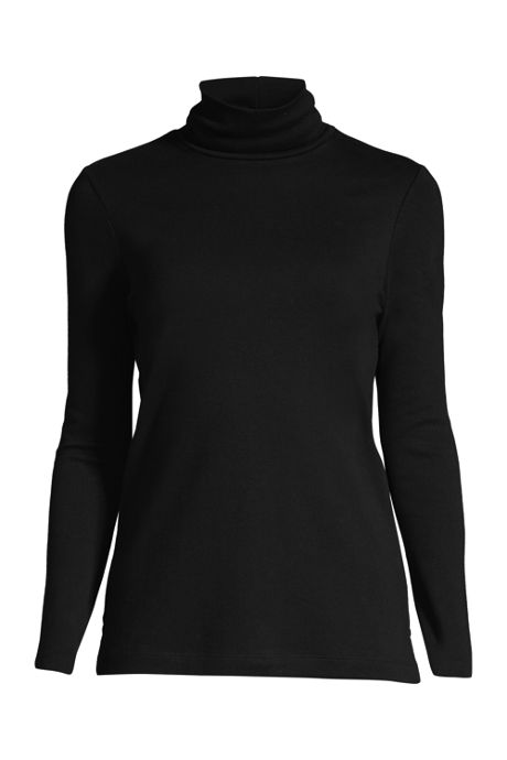 Women's Plus Size Supima Cotton Turtleneck