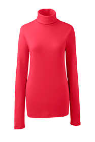 Women's Tall Supima Cotton Long Sleeve Turtleneck
