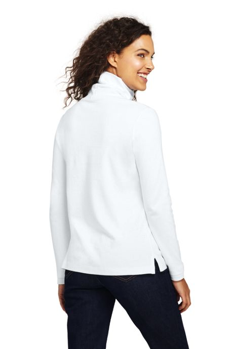 Women's Tall Supima Cotton Turtleneck