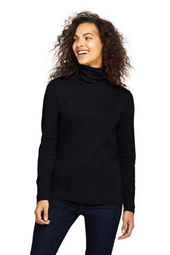Le Col Roulé Coton Supima Femme, Taille Standard