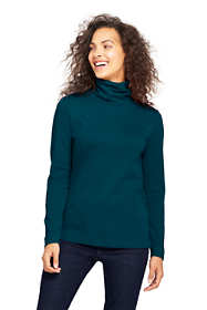 Women's Tall Shaped Supima Turtleneck