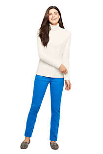 Women's Supima Cotton Long Sleeve Turtleneck, alternative image