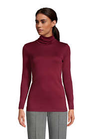 Women's Supima Cotton Long Sleeve Turtleneck