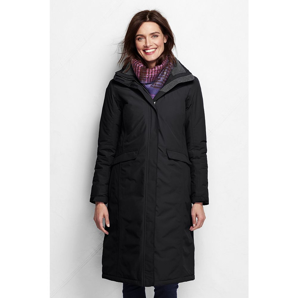Lands' End Women's Petite Stadium Squall Coat at Sears.com