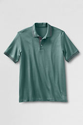Men's Short Sleeve Tipped Pima Polo Shirt