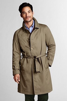 Cotton Wool Reversible Coat 419687: Standard Khaki