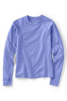 Girls' Thermaskin Heat Midweight Crew Top
