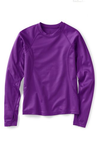 Little Girls' Thermaskin Heat Midweight Crew Top