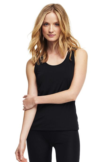 Women's Petite Thermaskin Heat Scoopneck Tank Top