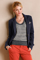 Women's Wright Navy Blazer