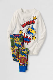 Boys' Knit Snug Fit Pajama Set