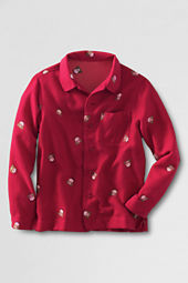 Boys' Flannel Pajama Top