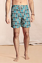 "Men's 7"" Printed Board Shorts"