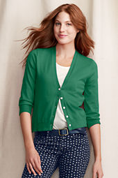 Women's Skinny V-neck Cardigan