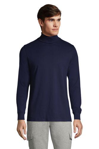 T-Shirt Super-T à Col Roulé et Manches Longues, Homme Stature Standard