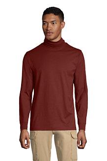 T-Shirt Super-T à Col Roulé et Manches Longues, Homme
