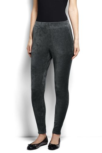 Stretchcord-Leggings für Damen