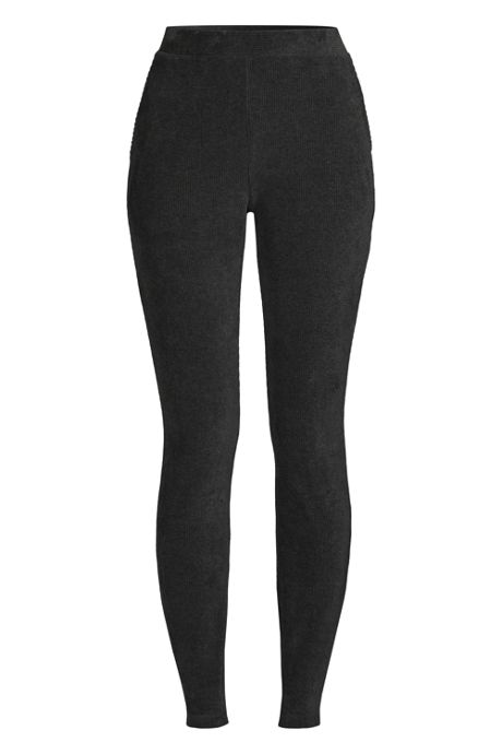Women's Plus Size Sport Knit Corduroy Leggings