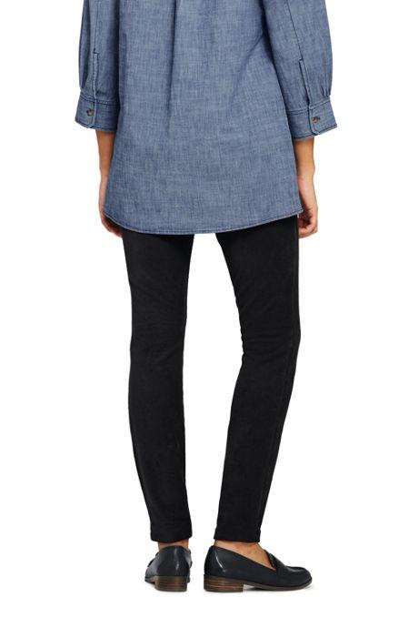 Women's Petite Sport Knit Corduroy Leggings