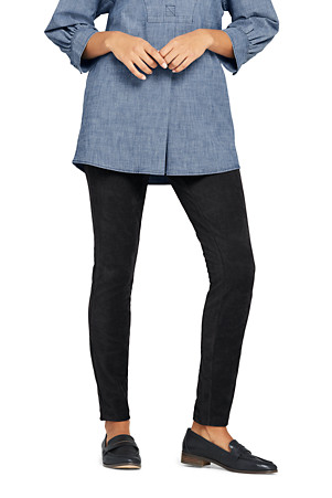 404768f7367f Women's Stretch Knit Cord Leggings | Lands' End