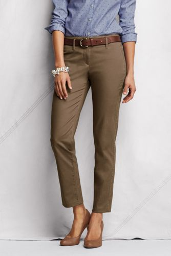 Le Chino Cigarette Stretch, Grande Taille