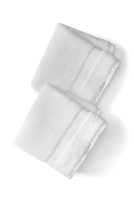 Essential Cotton Washcloths Set of 2