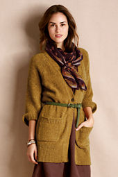 Women's Slouchy V-Neck Cardigan