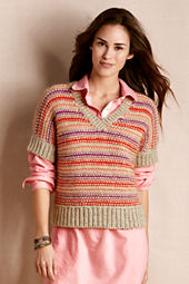 Women's Open V-Neck Sweater