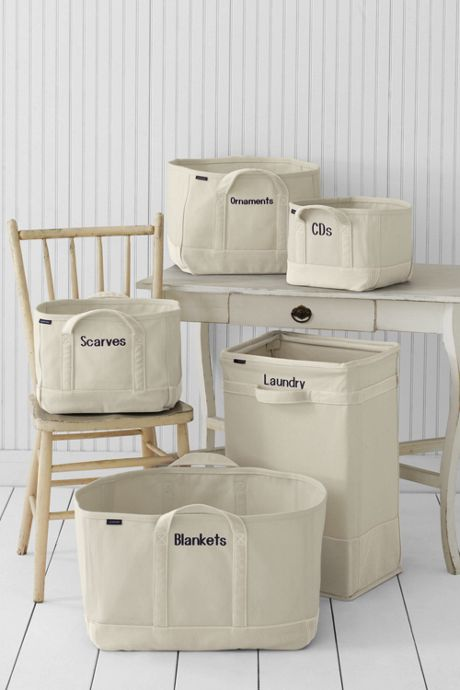 Canvas Laundry Hamper