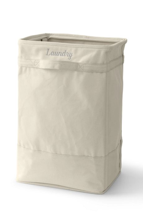 School Uniform Canvas Laundry Hamper