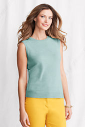 Women's Sleeveless Cashmere Shell