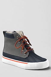 School Uniform Boys' Landry High Top Sneakers