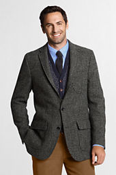 Men's Tailored Fit Harris Tweed Sportcoat