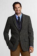 Lands' End Harris Tweed Sportcoat 421295