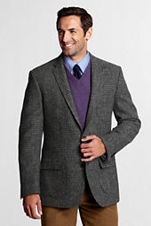 Men's Traditional Fit Harris Tweed Sportcoat