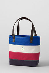 Medium Pieced Stripe Tote