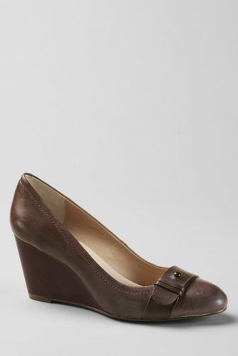 Women's Ellery Wedge Shoes - Mink Brown, 9H