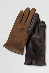 Men's Suede Inset Gloves
