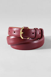 Women's Semi-shine Leather Belt