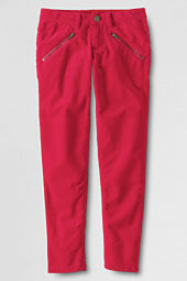 Girls' Slim Leg Corduroy Pants