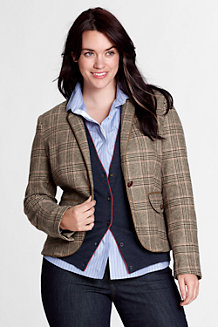 Women's Piped Jacket