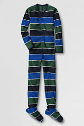Boys' Zip-front Fleece Sleeper
