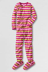 Girls' Zip-front Fleece Sleeper