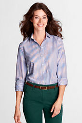 Women's Long Sleeve Supima Washed Oxford Shirt