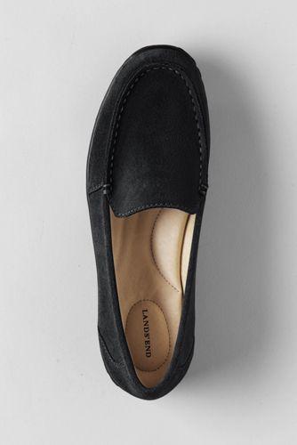 Veloursleder-Slipper für Damen