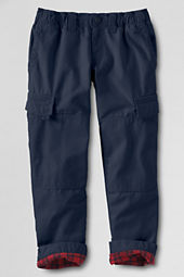 School Uniform Boys' New Iron Knee® Lined Canvas Pants