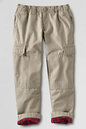 Boys' New Iron Knee® Lined Canvas Pants