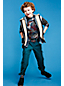 Little Boys' Iron Knee Pull-on Canvas Trousers