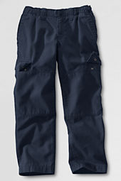 School Uniform Boys' Iron Knee® Pull-on Canvas Pants