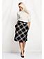 Women's Regular A-line Herringbone Skirt